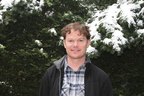 | Courtesy Mary-Ann Muffoletto Utah State University  Utah State University ecologist Dan MacNulty is an author on a new study that finds wolves kill each other for territory even if prey is abundant.