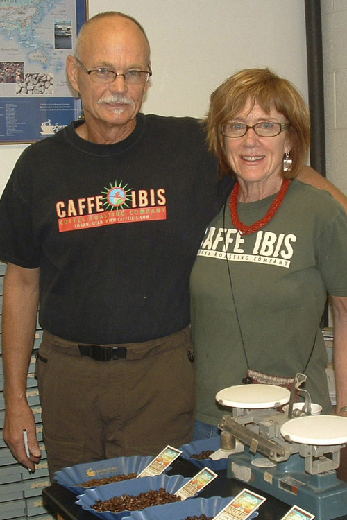 Randy Wirth died on April 12, 2014, two days after an accident caused by an alleged drunk driver. Wirth, who was roastmaater and co-owner of Logan's Caffe Ibis, is seen here with his wife, Sally Sears, who is CEO of the cafe.