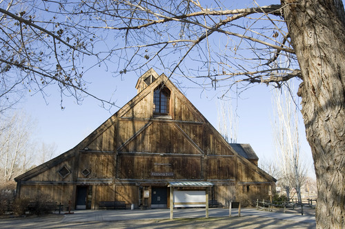 Al Hartmann  |  The Salt Lake Tribune Wheeler Historical Farm features an Activity Barn.