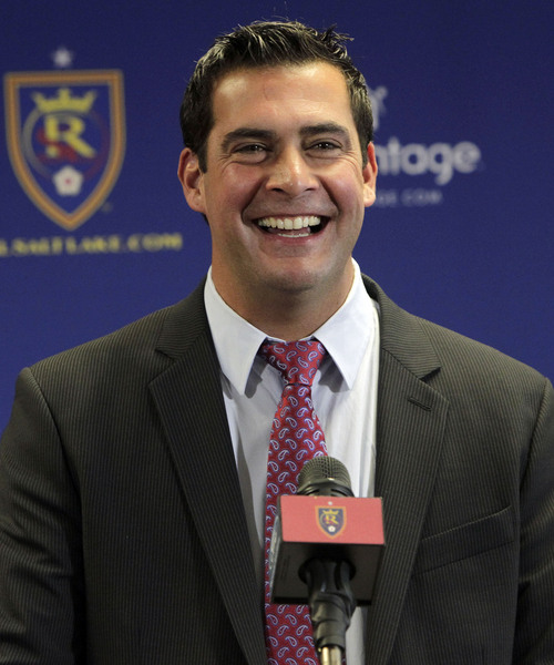 Leah Hogsten     The Salt Lake Tribune Real Salt Lake assistant coach Jeff Cassar was named RSLís third head coach in the franchiseís 10-year history, Thursday, December 19, 2013. The hiring comes less than two weeks after Kreis, Cassarís close friend and confidant, left RSL to accept the coaching position at MLS expansion club New York City FC.