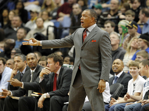 Phoenix Suns head coach Alvin Gentry shown in an NBA basketball game against the Minnesota Timberwolves, Saturday, Dec. 29, 2012, in Minneapolis. (AP Photo/Genevieve Ross)