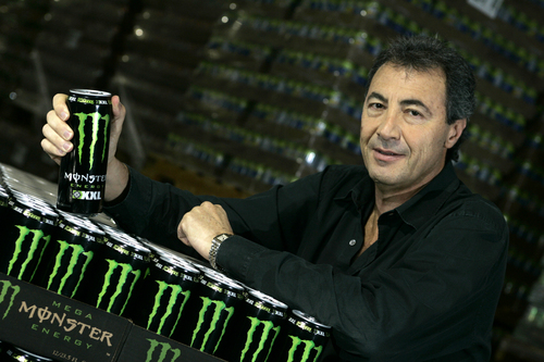 In this Nov. 10, 2005 photo, Rodney Sacks, CEO of Monster Beverage, poses for a photo in Corona, Calif. Sacks earned $6.22 million in 2013, a near seven-fold increase. (AP Photo/Los Angeles Times, Ifran Khan)  NO FORNS; NO SALES; MAGS OUT; ORANGE COUNTY REGISTER OUT; LOS ANGELES DAILY NEWS OUT; VENTURA COUNTY STAR OUT; INLAND VALLEY DAILY BULLETIN OUT; MANDATORY CREDIT, TV OUT