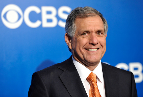 FILE - In this May 16, 2012 file photo, President and Chief Executive Officer of CBS Corporation Leslie Moonves attends the CBS network upfront presentation at The Tent at Lincoln Center in New York. Moonves' total compensation rose 9 percent to $65.6 million in 2013, making him the second-highest paid CEO, according to an AP/Equilar analysis. (AP Photo/Evan Agostini, File)