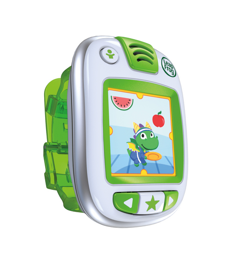 This product image provided by LeapFrog shows the LeapBand. (AP Photo/LeapFrog)
