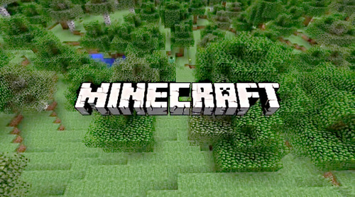 screen grab of the Minecraft video game