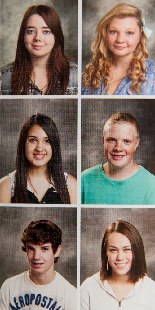 Trent Nelson  |  The Salt Lake Tribune The yearbook photos of several girls at Wasatch High School were digitally altered to cover up skin, with sleeves and higher necklines drawn onto their images, while some were left unaltered. In Heber City, Thursday May 29, 2014.