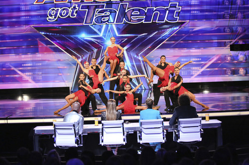 "Center Stage Dance Troupe auditions on NBC's ""America's Got Talent."" Courtesy Adam Taylor  