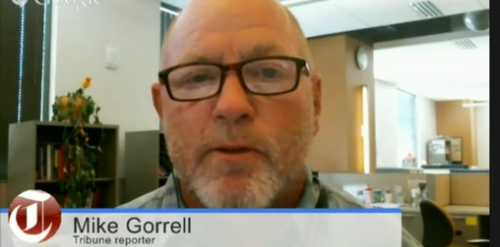 Tribune reporter Mike Gorrell was a guest on Trib Talk on Monday, June 2, 2014.
