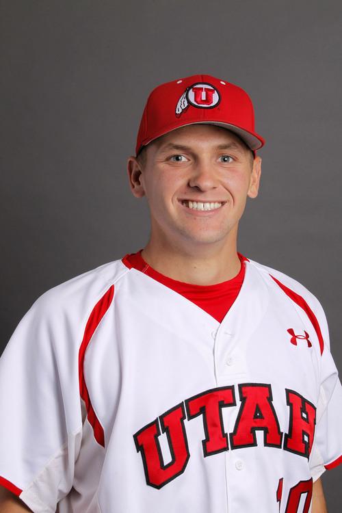 Courtesy  |  University of Utah Athletics Tanner Banks, Utah Baseball November 12, 2013 in Salt Lake City, Utah