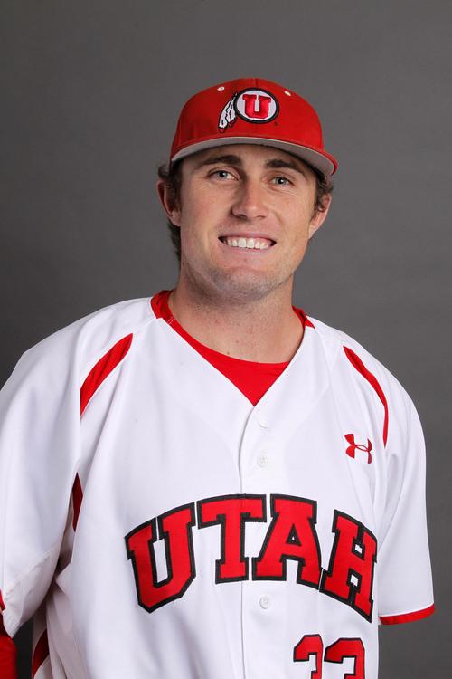 Courtesy  |  University of Utah Athletics Nick Green, Utah Baseball November 12, 2013 in Salt Lake City, Utah.