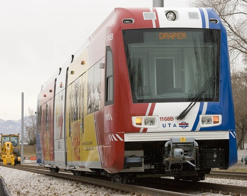 Paul Fraughton | Tribune file photo The Utah Transit Authority's light-rail TRAX system has expanded dramatically in recent years.