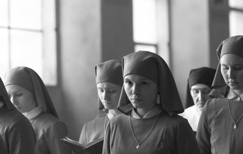 "(Courtesy Music Box Films) Agata Trzebuchowska plays Anna, a novitiate who learns a secret about her parents, in the Polish drama ""Ida."""