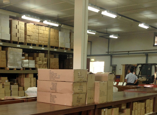 Mike Stack     special to The Salt Lake Tribune  Jehovah's Witnesses printed material distribution warehouse in Nungua, Ghana. 3/04/2014