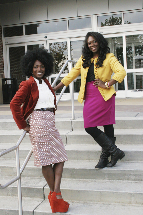 "(Courtesy Mama Rine Clark)  Tamu Smith (left) and Zandra Vranes (right) are ""Sistas in Zion"" and have written a new book, Diary of Two Mad Black Mormons"