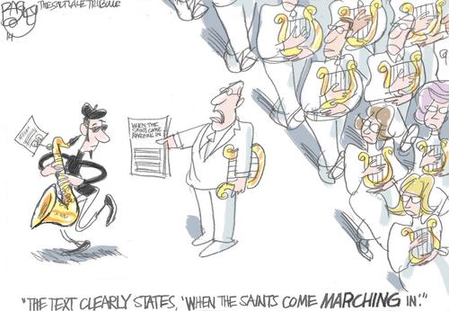 Pat Bagley cartoon for June 15, 2014.