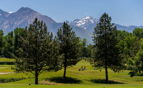 Trent Nelson  |  The Salt Lake Tribune With Salt Lake City trying to rescue its golf courses from financial collapse, one option is closing Utah's oldest golf course, Forest Dale, shown Thursday June 5, 2014.