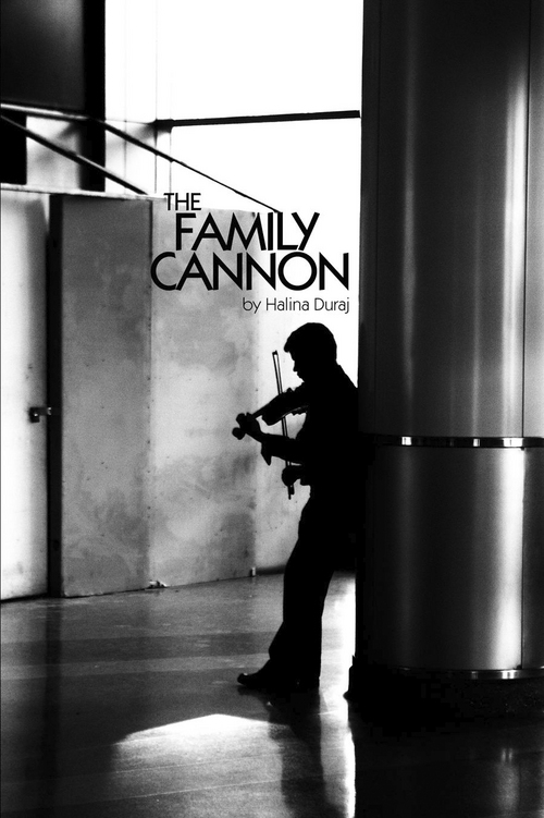 "Courtesy Photo   The book cover for writer Halina Duraj's story collection, ""The Family Cannon."""