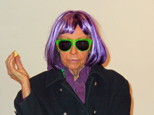 Ultra Violet, compatriot of Andy Warhol and later Mormon convert, died June 14, 2014.  Courtesy of David Shankbone, under CC BY 2.5 http://creativecommons.org/licenses/by/2.5/