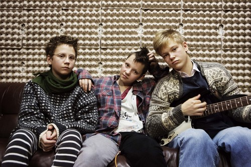 "| Courtesy Magnolia Pictures  Bobo (Mira Barkhammar, left), Karla (Mira Grosin, center) and Hedvig (Liv Lemoyne) are middle-school girls who form a punk band in 1982 Stockholm, in the coming-of-age comedy ""We Are the Best!""."