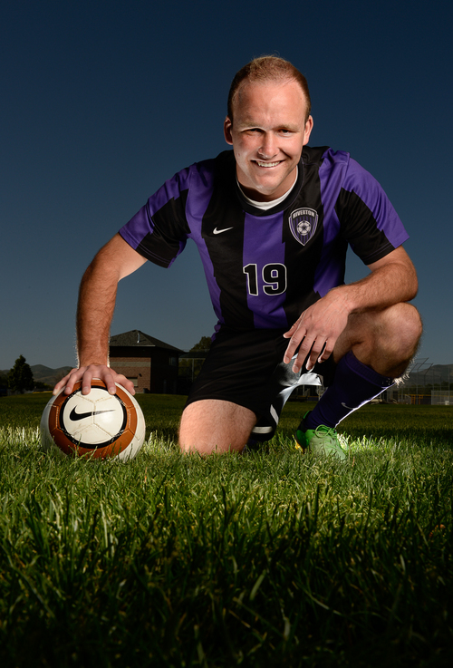 Francisco Kjolseth  |  The Salt Lake Tribune The Tribune soccer MVP is Hunter McFall of Riverton High school.