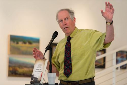 "Trent Nelson     The Salt Lake Tribune Alex Beam • Boston Globe columnist and author of ""American Crucifixion."""