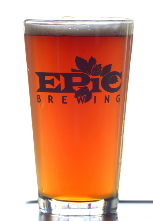 Rick Egan  |  The Salt Lake Tribune The Brett Pale Ale, at Annex by Epic Brewing, Friday, June 27, 2014.