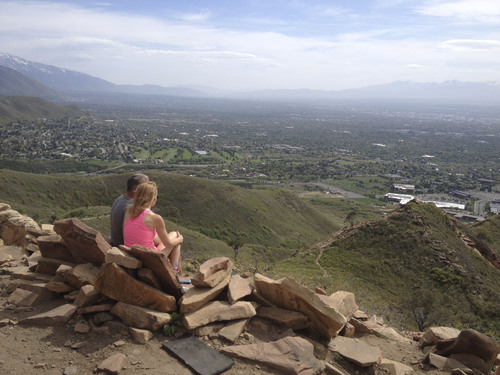 View From The Living Room Trail A Romantic Hiking Destination In Salt Lake City