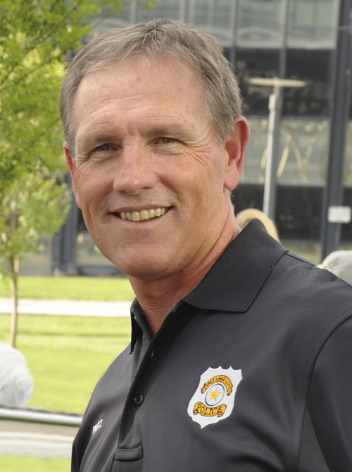 Salt Lake City Police Deputy Chief Terry Fritz.