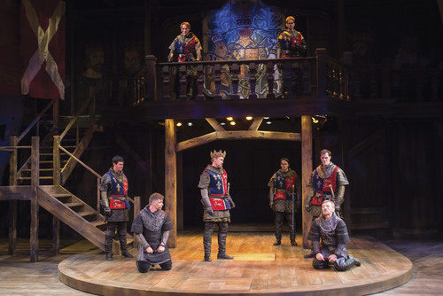 "A scene from the Utah Shakespeare Festival's 2014 production of ""Henry IV Part One."" Courtesy  