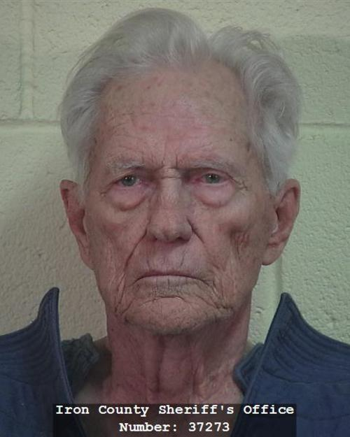 This photo provided by the Iron County Sheriff's Office shows Nathan Zimmerman. Zimmerman, an 83-year-old man is accused of fatally shooting his stepdaughter at a home in the southern Utah town of Parowan. (AP Photo/Iron County Sheriff's Office)
