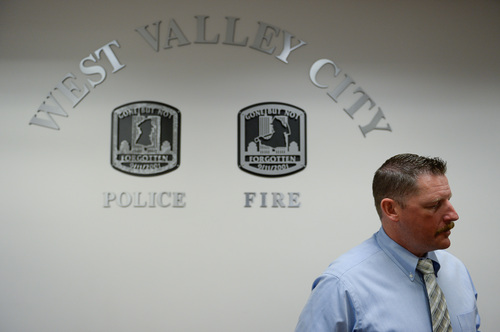 Francisco Kjolseth  |  The Salt Lake Tribune Ellis Maxwell, seen here Wednesday July 9, 2014, is the West Valley Police detective who was the lead detective on the Susan Powell case.