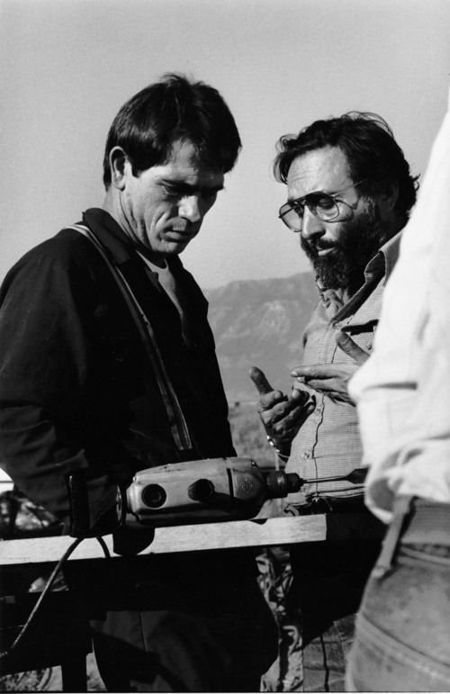 """A scene from the 1982 TV movie """"The Executioner's Song"""" about Gary Gilmore, which was filmed in Utah. Courtesy Polaris Communications, Inc. All Rights Reserved. Photo © Alex Webb"""