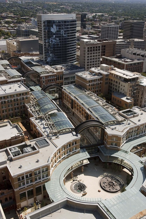 Trent Nelson  |  Tribune file photo City Creek Center was among the redevelopment projects in Salt Lake City in recent years that brought tremendous growth in property values. A new review by the state auditor says redevelopment reappraisals were being double-counted in calculations that left cities with property tax rates lower than they were entitled to.