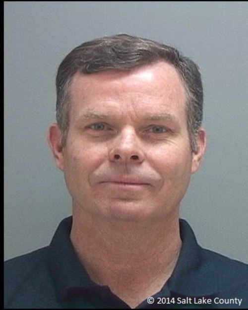 John Swallow booking mug. (Salt Lake County Sheriff's Office photo)