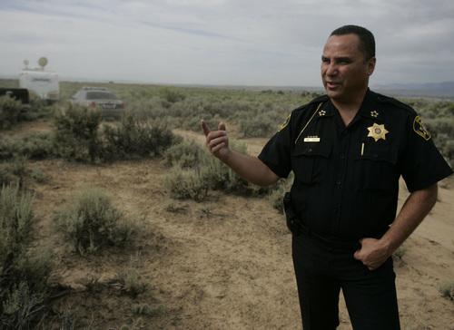 Carbon County Sheriff James Cordova
