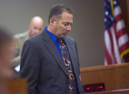 File  |  The Salt Lake Tribune Reginald Campos, appears in Judge Robert Adkins 3rd District court in West Jordan on Friday October 9th for a preliminary hearing.