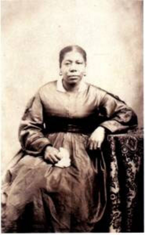 Jane Elizabeth Manning [James] was a freeborn servant in Joseph Smith's household who joined the church. Photo courtesy of Genesis.