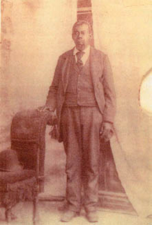 Green Flake, the slave of James Madison Flake, a convert to the LDS Church, was baptized at age 15. Green later was freed. Photo courtesy of Genesis.