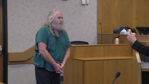 Stuart Johnson     Pool  Fred Lee, accused of killing his ex-wife's new husband, appears in Provo's 4th District Court on Tuesday, July 22.
