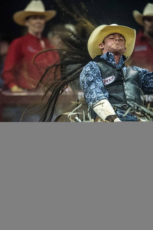 Days Of 47 Rodeo Iowan Tim O Connell Keeps Rolling In