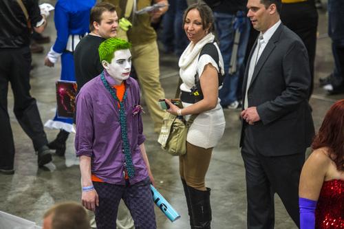 Chris Detrick  |  The Salt Lake Tribune Scenes from the Salt Lake Comic Con FanXperience at the Salt Palace Convention Center Saturday April 19, 2014.