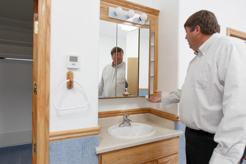 Trent Nelson     The Salt Lake Tribune Willie Jessop inside a home intended for the family of Warren Jeffs in Hildale, Friday April 26, 2013. The property was purchased by Jessop, who spent the day allowing former followers to see the inside of a compound they had previously not been allowed to enter.