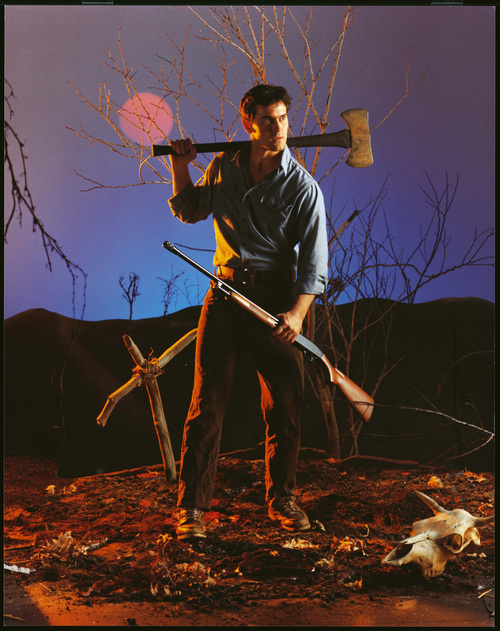 "Bruce Campbell in the ""Evil Dead."" Photos provided by Ed Peters Sue Procko Public Relations"