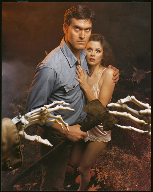 "Ed Peters Sue Procko Public Relations Bruce Campbell in the ""Evil Dead."""