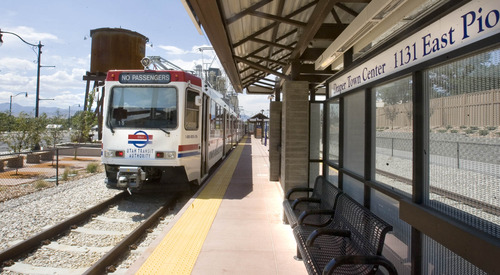 Tribune file photo The Utah Transit Authority is exploring a distance-based fare system. Such a change will be the subject of study and public outreach in coming months.