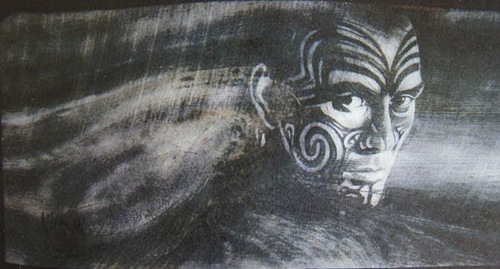 "(Courtesy Larry Nielson)  Utah Artist Larry Nielson was robbed of 24 works of art. He has offered a reward for information leading to their recovery. Pictured is ""New Zealand Moko Polynesian Warrior #1,"" one of the works that was taken."