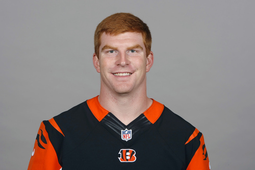 This is a 2013 photo of Andy Dalton of the Cincinnati Bengals NFL football team. This image reflects the Cincinnati Bengals active roster as of Monday, May 20, 2013 when this image was taken. (AP Photo)