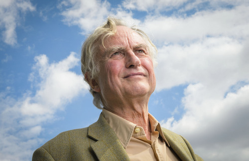 "Professor Richard Dawkins, ethologist, evolutionary biologist and author of books including ""The God Delusion"" and ""The Selfish Gene,"" is seen at Random House, London, on Wednesday, August 14th,2013. (Fiona Hanson/AP)"