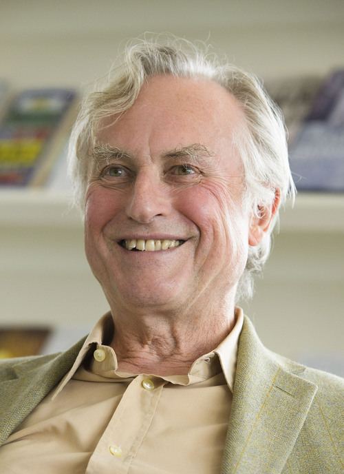 "Professor Richard Dawkins, ethologist, evolutionary biologist and author of books including ""The God Delusion"" and ""The Selfish Gene,"" is seen at Random House, London, on Wednesday, Aug. 14,2013.  (Fiona Hanson/AP)"