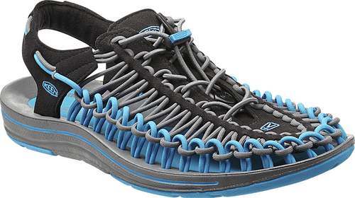 Courtesy Photo  UNEEK shoe from KEEN: Comprised of two braided polyester cords and a sole, KEEN says the UNEEK provides a ìtruly unique fit experience with a look and feel unlike any otherî. A lightweight midsole and rubber pods in the heel and toe area give users protection and traction. Not surprisingly, the shoe only tips the scales at 8.5 ounces. Available spring 2015 for $100. www.keenfootwear.com/uneek